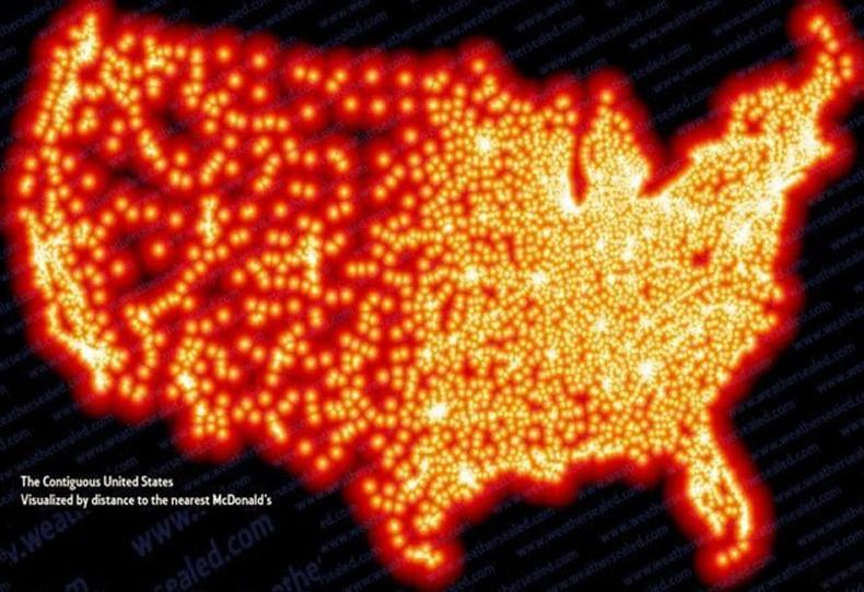 """Америк дахь """"McDonald's"""" сүлжээ бүр гэрэлтвэл ийм болно"""