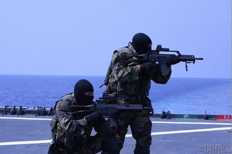 Испанийн тэнгисийн цэргийн тусгай хүчин