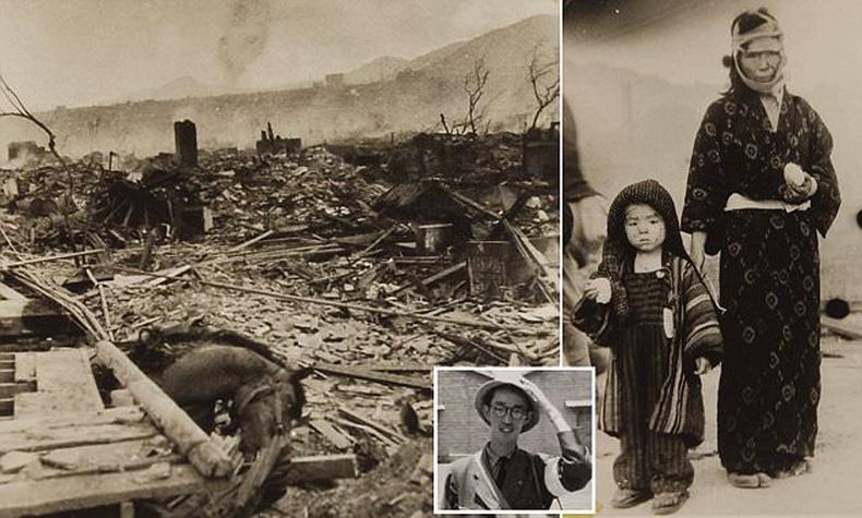Японд хаясан цөмийн бөмбөгдөлтийн дараах аймшигт төрх