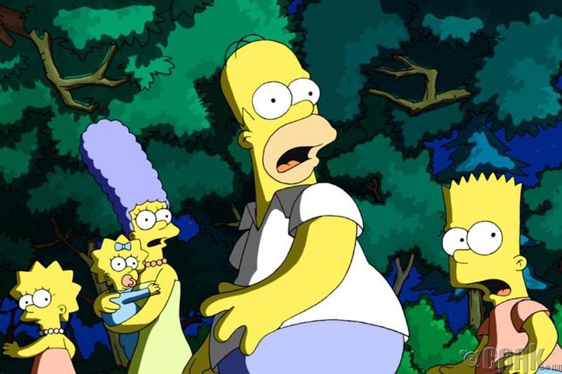 """""""Simpsons"""" хүүхэлдэй"""