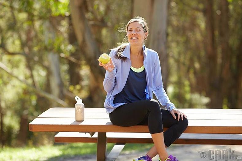 Сарын тэмдэг ба фитнес