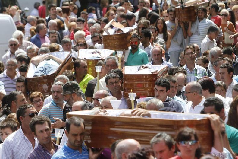 Амьд үлдэгдсийн баяр (The Feast of Saint Marta de Ribarteme)