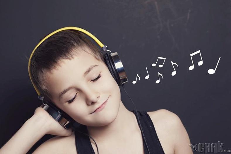 Хөгжмийн хичээлд суух