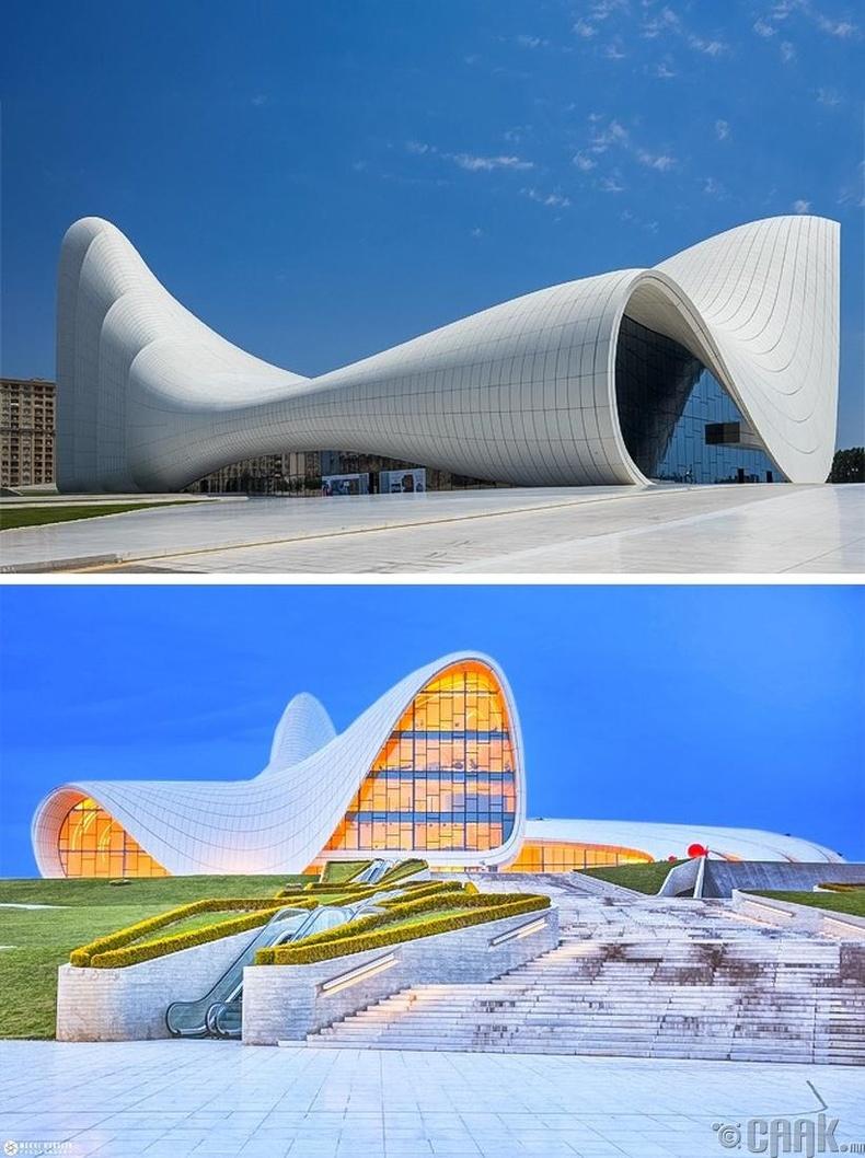 Хейдар Алиевын нэрэмжит төв - Баку хот, Азербайжан