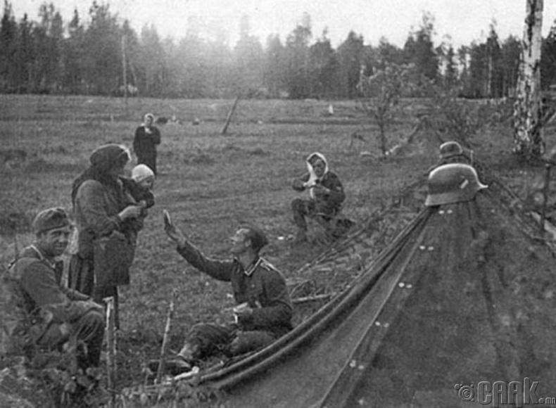 Герман цэрэг эрийн сайхан сэтгэл