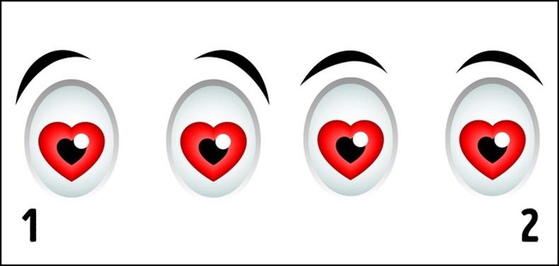 Аль нь дурласан хүний нүд вэ?