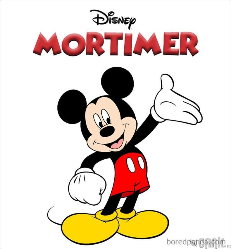 """Mortimer"" хулгана ""Mickey Mouse"" болсон нь"
