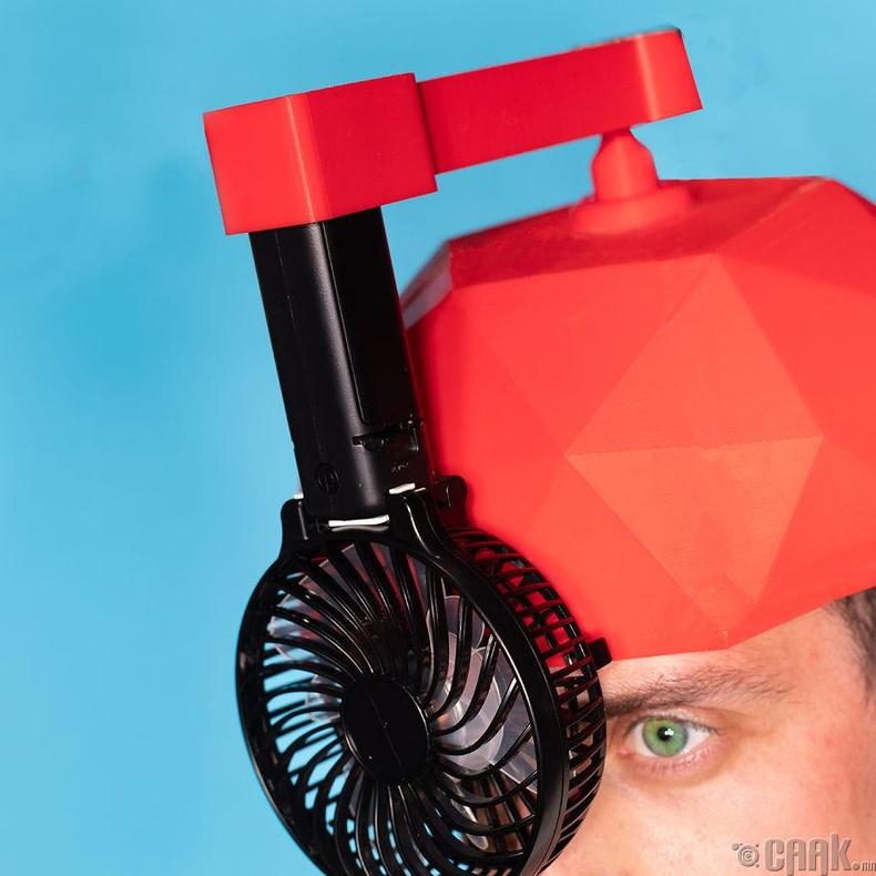 Энэхүү өндөр хүчтэй сэнсийг толгойн дээрээ ажиллуулаад муухай үнэрээс ангижраарай