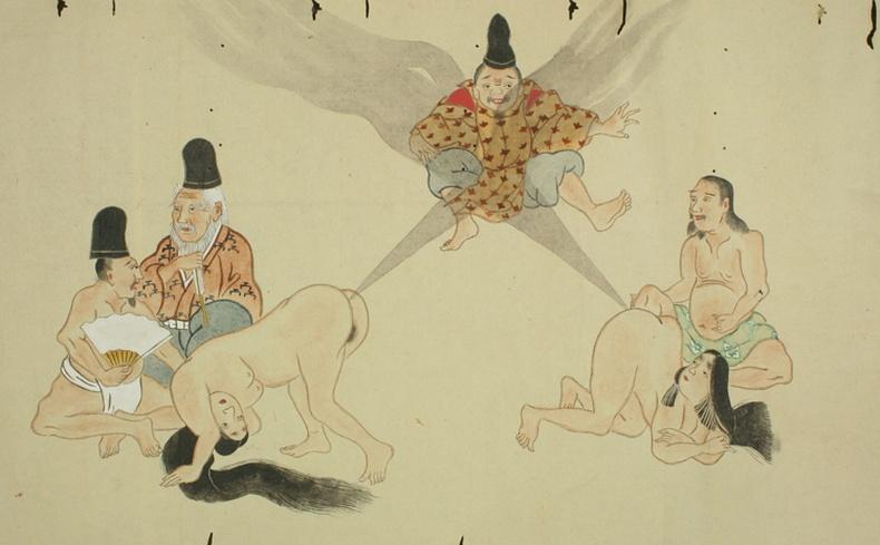 Япончуудын эртний солиорол