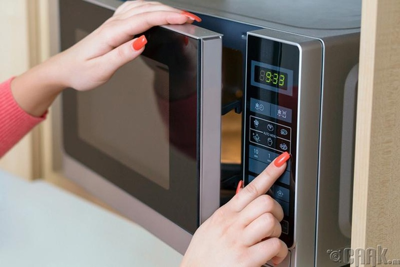 Богино долгионы зуухны гадна тал халах нь аюултай юу?