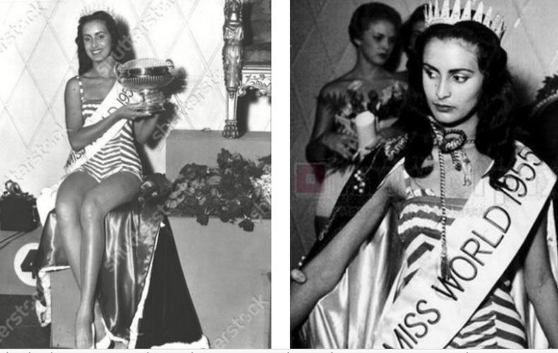 Сусана Дейм — «Дэлхийн Мисс» 1955 он