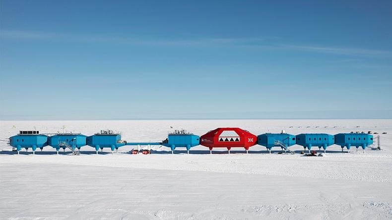 """Антарктид дахь """"Halley"""" судалгааны станц"""