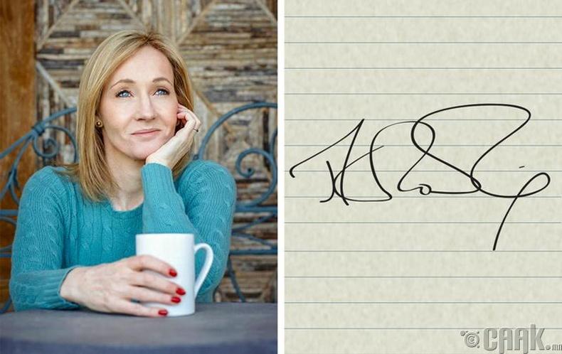 Ж.К Роулинг (J.K. Rowling)