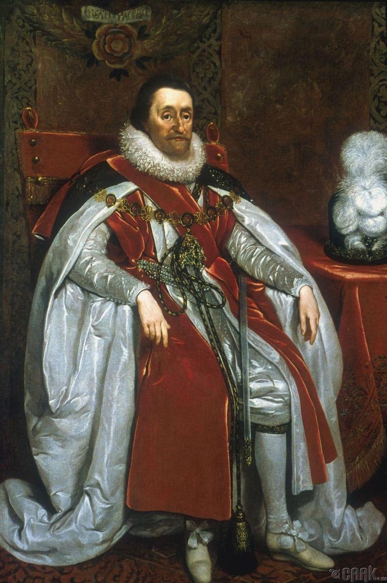 6-р Жеймс (1567 — 1625)
