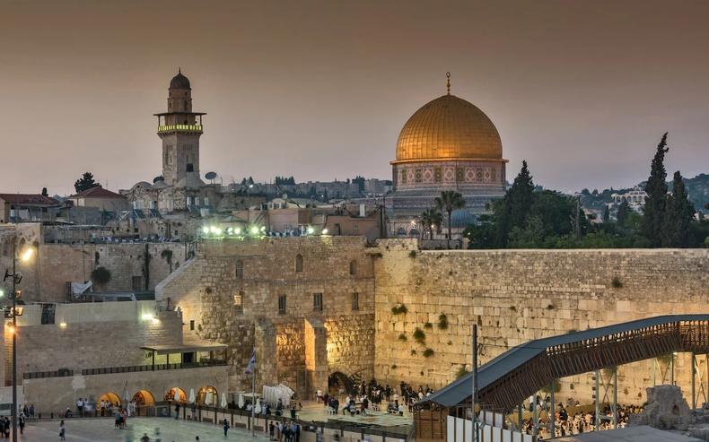 Иерусалим - Израйль, Палестин