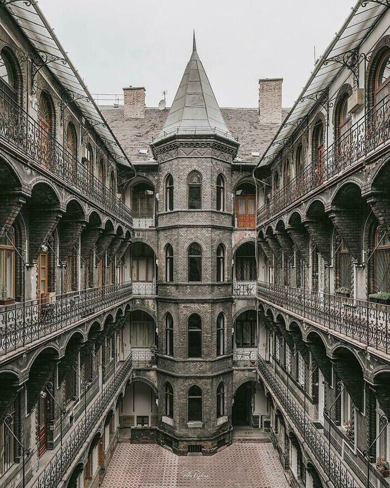 Будапешт дэх нео-готик байшин, ойролцоогоор 1894 оны үе
