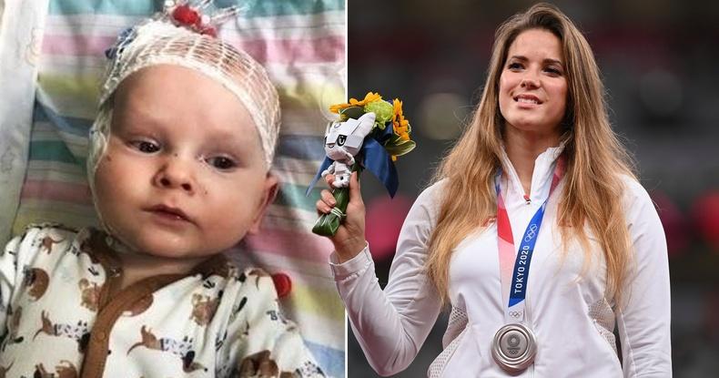Польшийн тамирчин бяцхан хүүд амьдрал бэлэглэхийн тулд Олимпын медалиа заржээ