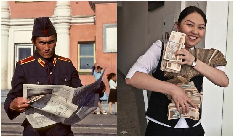 Өөрчлөлтийн дундах Монгол орон францын гэрэл зурагчин Мишель Сетбуны дуранд...