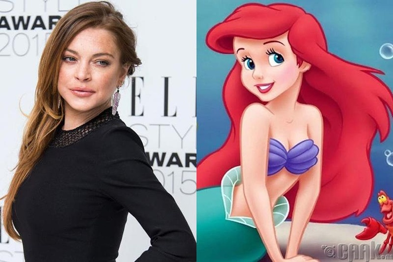 "Линдсей Лохан (Lindsay Lohan) - ""The Little Mermaid"""