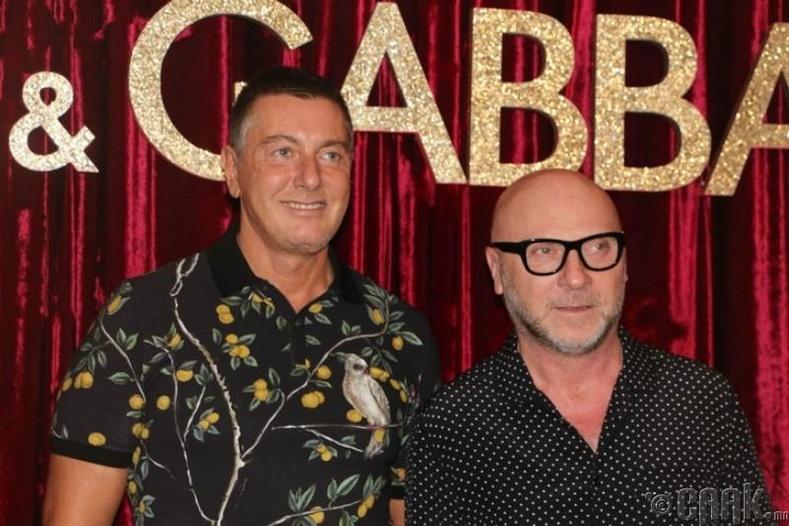 Dolce & Gabbana — Доменико Дольче болон Стефано Габбана