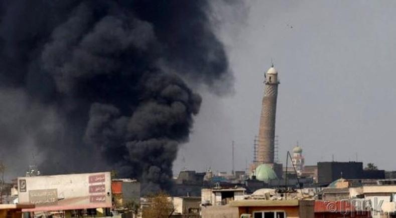 Аль-Нури сүмийн хазгай цамхаг (Al-Nuri Minaret) - Мосул хот, Ирак