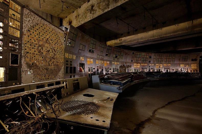 Чернобылийн станцын удирдлагын хэсэг өнөө цагт...
