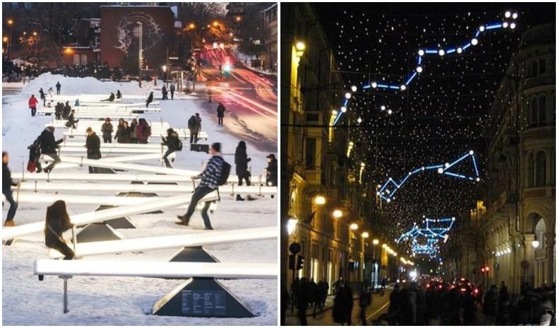 Дэлхийн хотуудад хэрэгжүүлсэн гайхалтай бүтээлч санаанууд