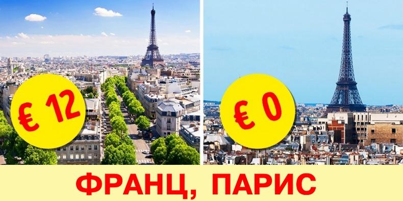 Европын орнуудаар аялж байхдаа үнэгүй үзэж болох 10 зүйл