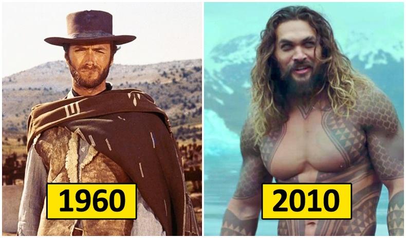 """Холливудын """"баатар"""" хэмээх ойлголт он цагийн уртад хэрхэн өөрчлөгдсөн бэ?"""
