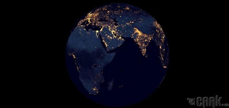 Дэлхий маш харанхуй болно
