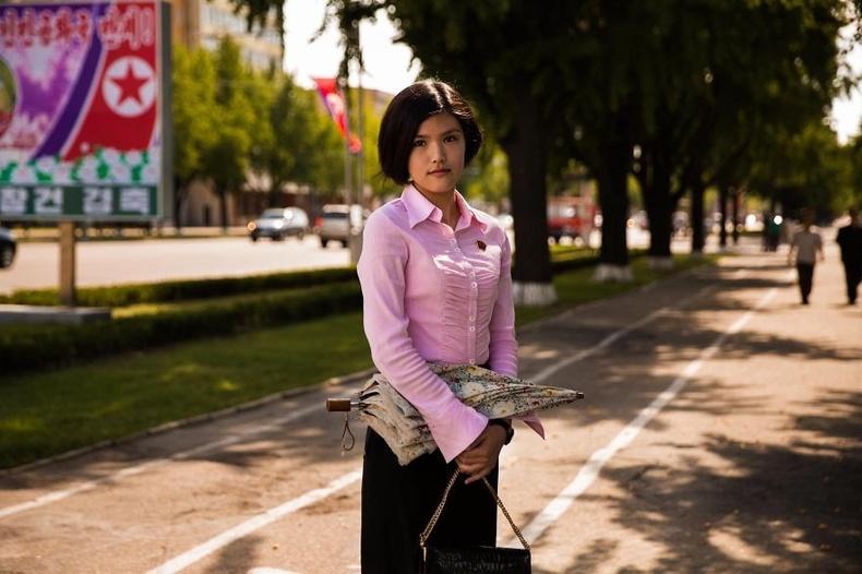 Пёньян дахь их сургуулийн оюутан