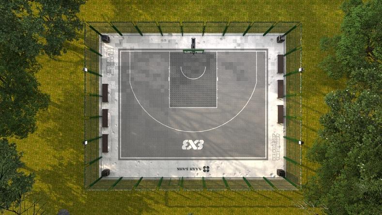 ХААН Банк 21 аймагт 3х3 сагсан бөмбөгийн стандарт талбай байгуулан хүлээлгэж өгнө