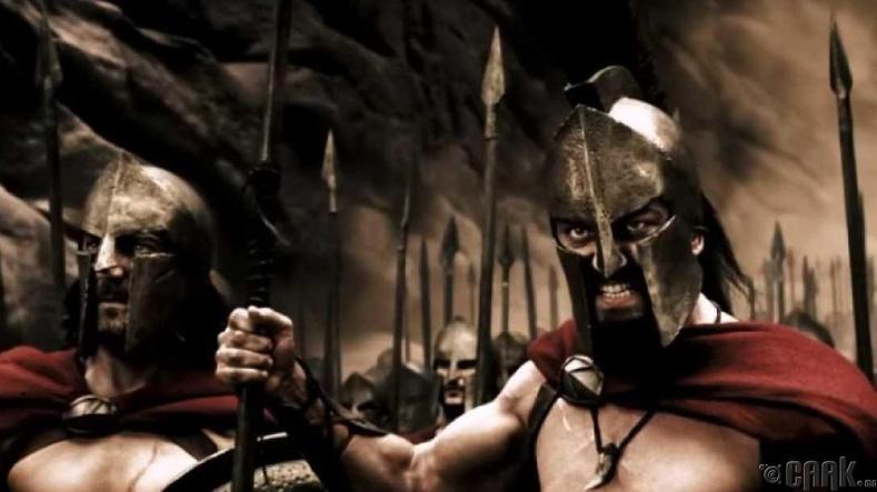 Бид бододхоо: Домогт Спартагийн 300 дайчин Фермопилыг хамгаалсан
