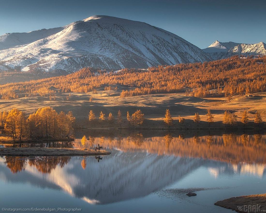 Алтайн уулсын намрын өнгө