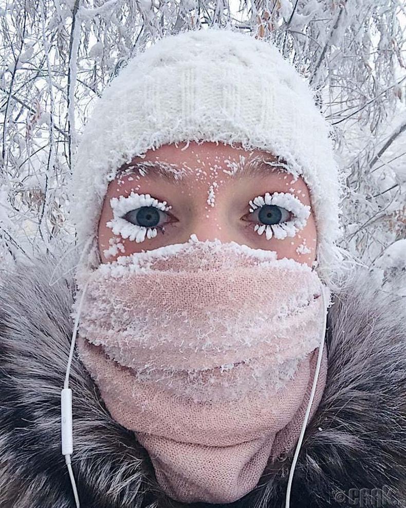 Оймякон бол дэлхий дээрх хамгийн хүйтэн суурин газарт тооцогддог