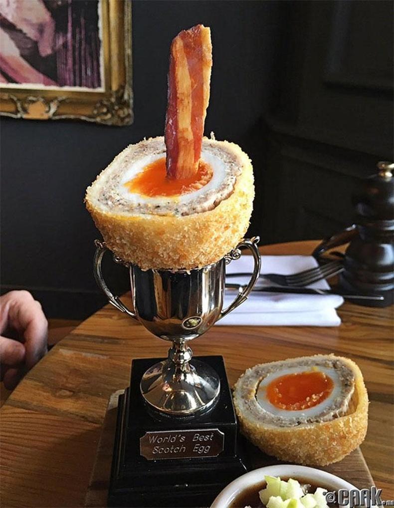 Шотландын хамгийн амттай өндөг