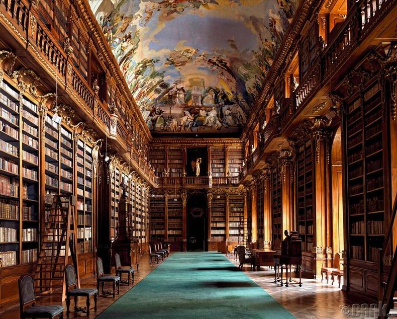 Страховын номын сан, Прага, Чех
