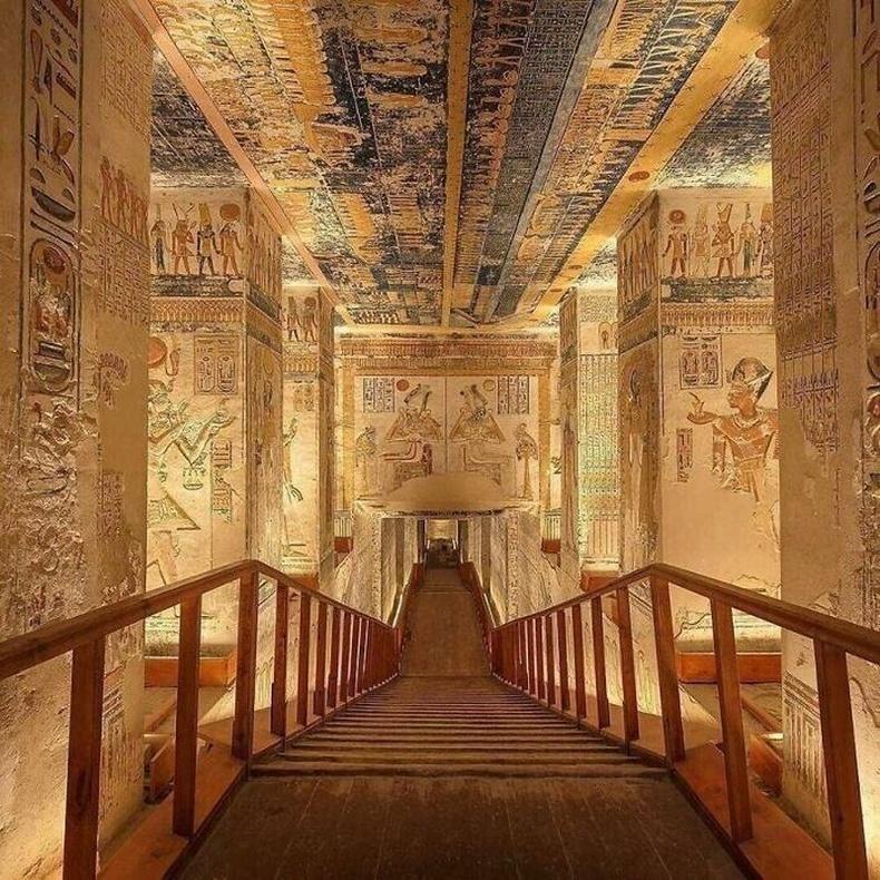 Рамсес Ви булш, Хаадын хөндий, Египет