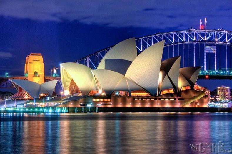 Сиднейн дуурийн театр, Австрали улс
