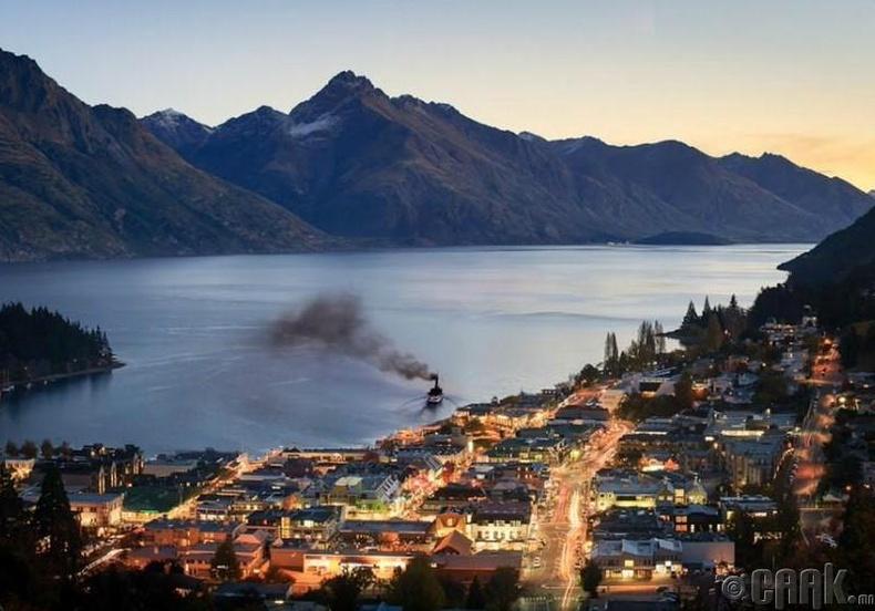 Куинстаун (Queenstown), Шинэ Зеланд