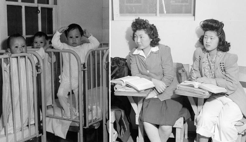 """Дайны үед АНУ дахь япончуудыг хорьж байсан """"Манзанар"""" лагерийн амьдрал"""