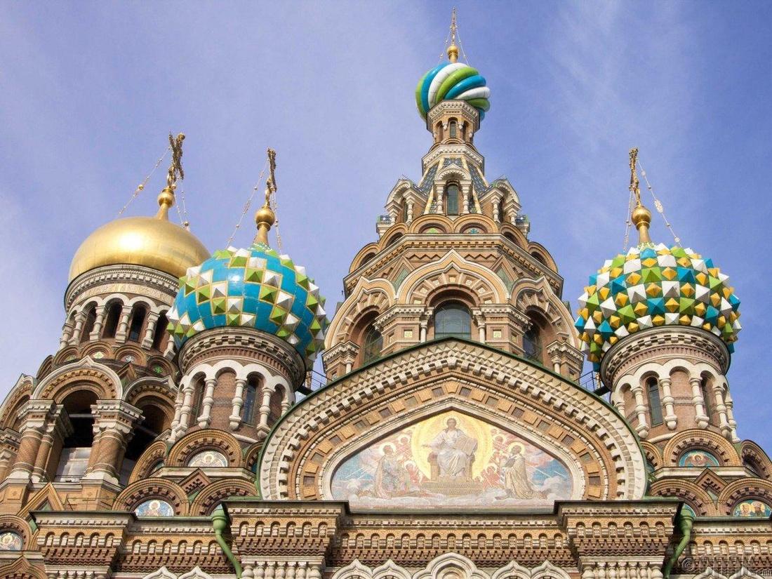 """""""Аврагч Христийн сүм"""" Санктпетербург хот, Орос"""