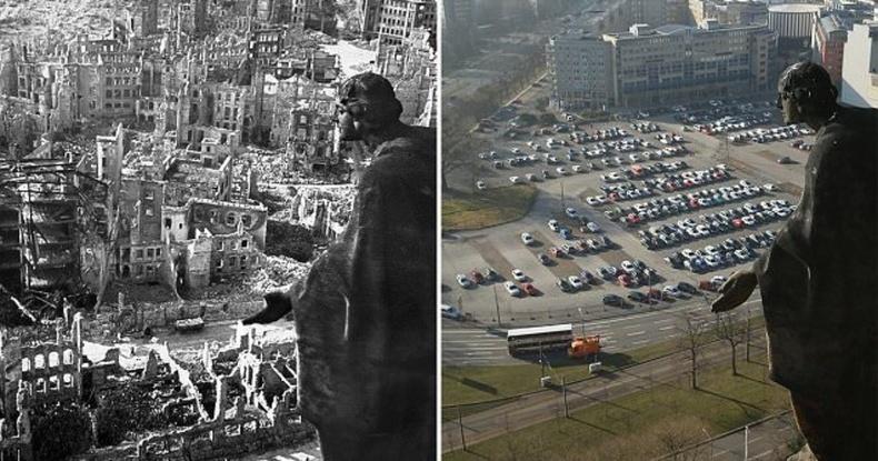 Дресдэн хот дэлхийн 2-р дайны дараа ингэж сэргэжээ