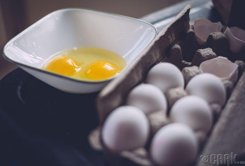 Өндөг ба Salmonella бактери