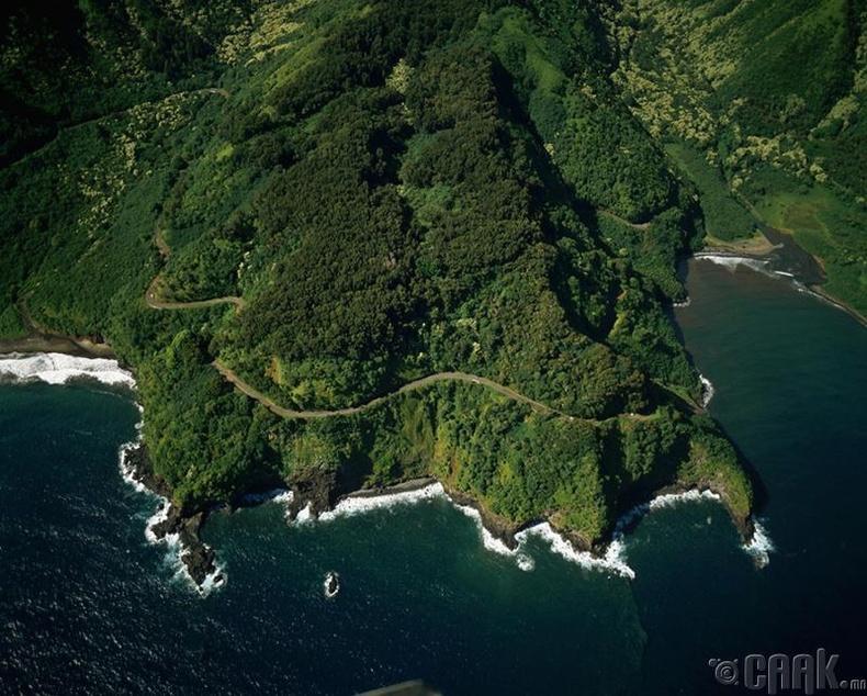 Хавайн арал, Хана зам