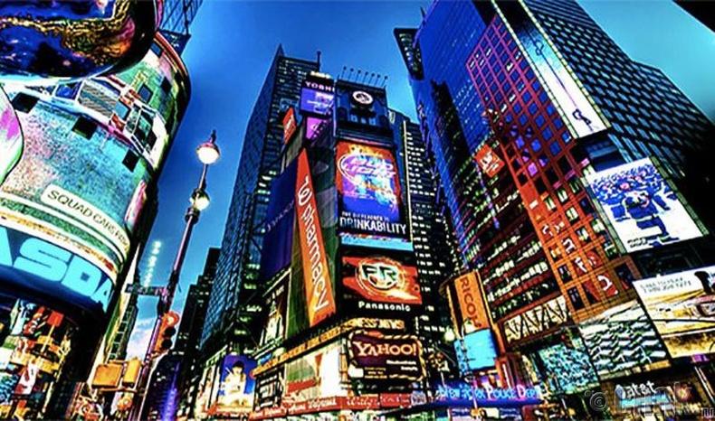 Таймс Скүэр (Times Square) талбай, Нью Йорк хот, АНУ