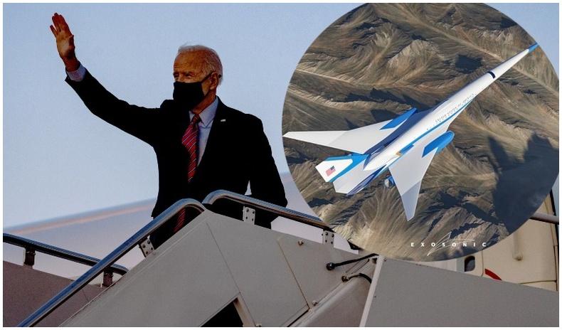 АНУ-ын Ерөнхийлөгчөд зориулан дуунаас хоёр дахин илүү хурдтай онгоц бүтээгджээ