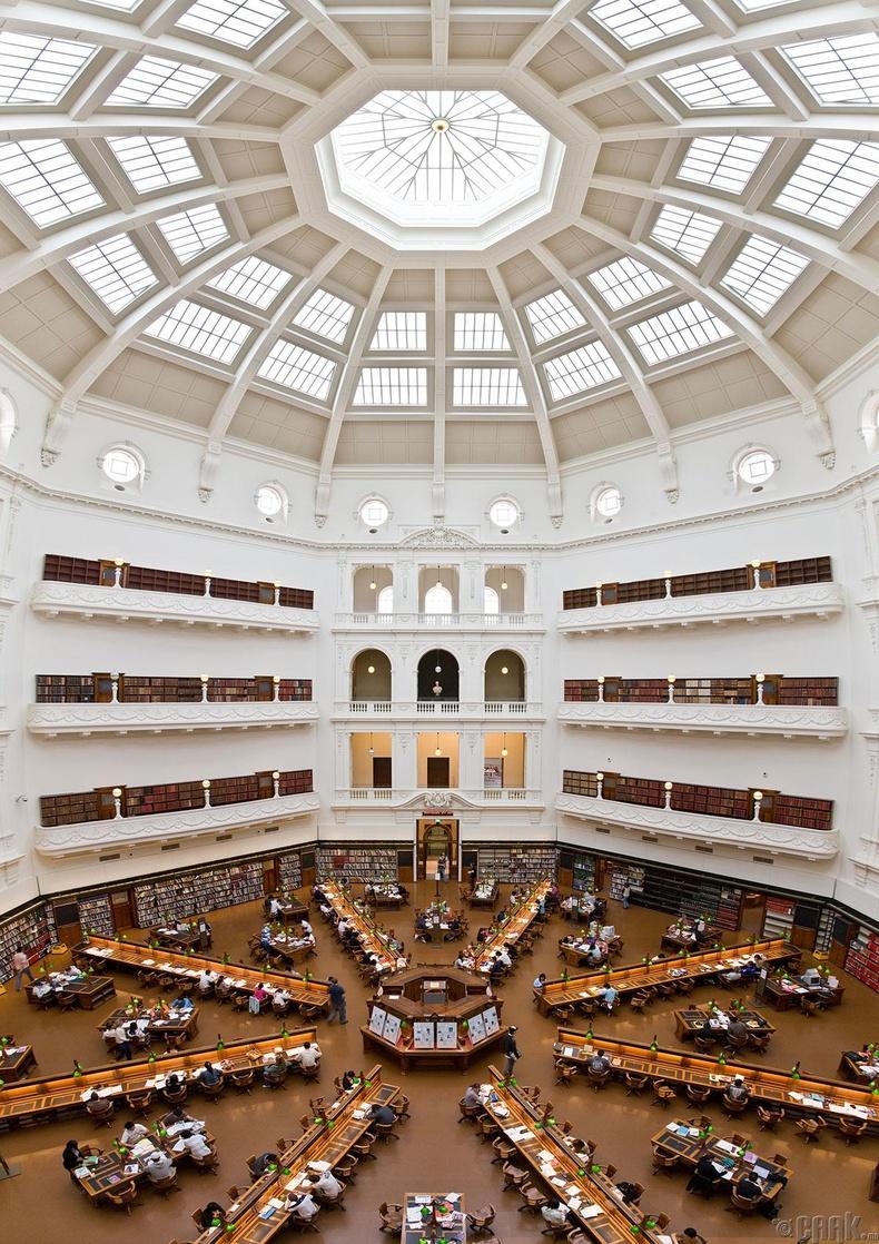Викториагийн төв номын сан, Австрали