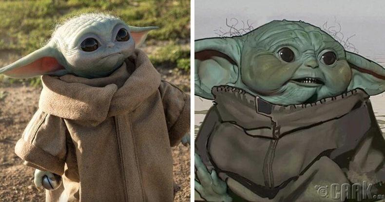 Mandalorian - Baby Yoda