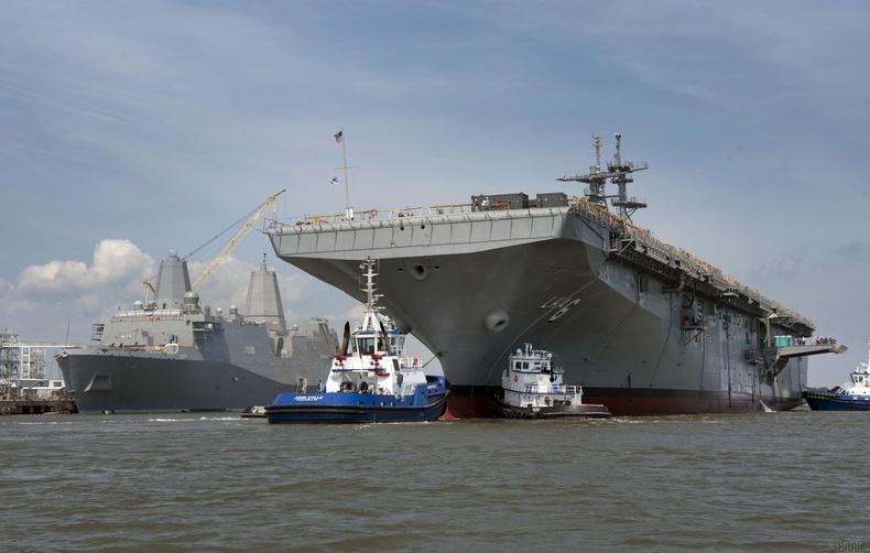 «Америка» ангиллын десантын хөлөг онгоц